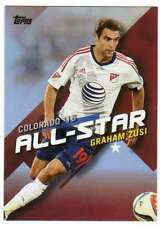 2016 Topps MLS Soccer All Stars #MLSA-19 Graham Zusi Sporting Kansas City