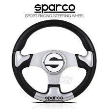 New Genuine SPARCO 012TR320 350mm PU Alloy Spoke Sport Racing Steering Wheel