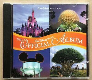 Walt Disney World OFFICIAL ALBUM cd 1998 Theme Park Music NEAR MINT!!