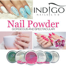 INDIGO Mermaid Holo MetalManix CHAMELEON Chrome Effect Nail Powder Dust Glitter