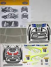 Dekorbogen Carson 1:10 Subaru Impreza Ralley Aufkleber 69181 Dekor Drift
