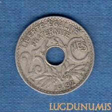 25 Centimes Lindauer - 1932 - Qualité TB TTB
