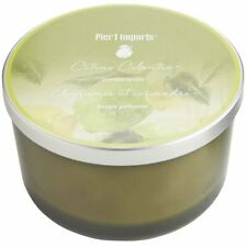Pier 1 Imports Filled 3-Wick Candle Candle (Citrus Cilantro)