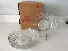 Princess House FANTASIA Small Fruit / Dessert Bowls - MIB - Set of Four (4)