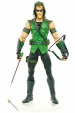 "DC Direct Brightest Day Series 1 GREEN ARROW Complete 7"" Action Figure 2011"