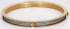 CHARRIOL Women's Forever Two-Tone Stainless Steel Cable Bangle Bracelet