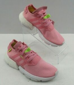 Ladies' Adidas Pink Pod S3.1 J Lace Up Athletic Sneaker Shoes Size: 6
