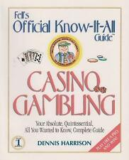 NEW Fell's Guide to Casino Gambling by Dennis R. Harrison