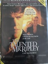 The Talented Mr. Ripley (DVD, 2000) Matt Damon, Gwyneth Paltrow- Free Post!