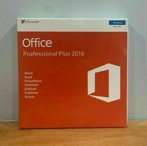Microsofto Professional Plus 2016 for 1 PC DVD or 1 PC KEY