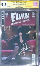 Elvira Mistress of the Dark #1 photo cvr_CGC 9.8 SS_Signed by Cassandra Peterson