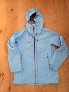 Mammut Women's Stretch Waterproof Jacket, Pastel Blue, Size M