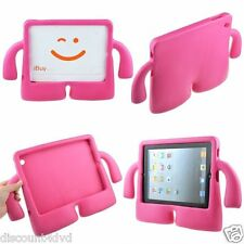 Red Rose Light Weight 3D Case Cover with Handle Light Weight For Apple iPad 2/3