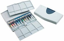Water Color Painting Set Winsor And Newton Cotman PLUS 12 Tube 8ml Pocket Brush