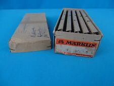 Marklin 3600 D Straight Track M 50-ies set of 10 pcs OVP