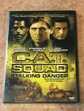 C.A.T. Squad AKA Stalking Danger (DVD, 1986) BRAND NEW / FACTORY SEALED