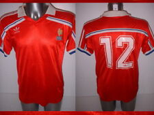 France ADIDAS Adult Large 1980's Vintage Football Soccer Shirt Jersey Trikot 3rd