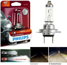 Philips X-Treme Vision H7 55W One Bulb Head Light Low Beam Upgrade Replacement