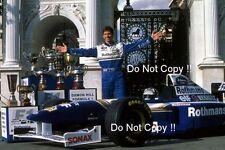 Damon Hill Williams FW18 Portrait F1 CAMPIONE DEL MONDO 1996 foto 2