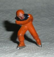 "VINTAGE Barclay Lead ""Man Speed Skater, In Orange"" B180 Excellent Cond F/S Lot D"