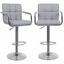 Songmics tabourets Bar Haut Chaise Simili Cuir PU Chrome Hauteur...