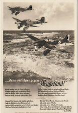 Propaganda-Postkarte um 1938 Stuka-Flieger Luftwaffe 2.WK
