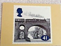 Royal Mail Post Card The Age of Stream Devizes Castle  PHQ 158(e) 41p Stamp Card