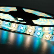 1m 5m LED Streifen RGB RGBW RGBWW SMD 5050 Stripe Dimmbar Band Leiste DC 12V 24V