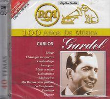 CARLOS GARDEL 40 TEMAS 100 ANOS DE MUSICA 2CD New Nuevo sealed