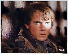 ANTON YELCHIN Signed Terminator Salvation 11x14 Photo Pavel Chekov Star Trek PSA