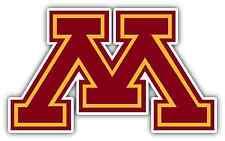 """Minnesota Golden Gophers College NCAA Car Bumper Vinyl Sticker Decal 5""""X4"""""""
