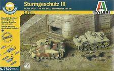Italeri 1/72 20mm Sd Kfz 142 StuG III & StuH 42 2 Rapido Assemblaggio Serbatoi