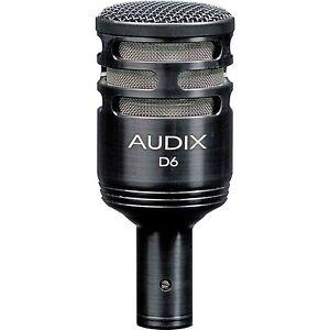 Audix D6 Kick/Bass Drum Microphone D-6