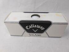 NIP, Callaway SolAire golf balls, set of three, Callaway 1