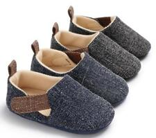New Arrived Baby Boy Crib Shoes Infant Toddler PreWalking Trainers 3 6 9 12 18 M