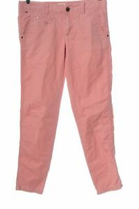 TOMMY HILFIGER Pantalone jersey rosa stile casual Donna Taglia IT 40 Cotone