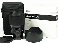 Sigma Art 85mm F/1.4 DG Lens - Sony E Mount