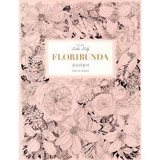 Leila Duly Floribunda Botanical Coloring Book