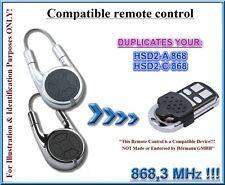 Hormann HSD2-A, Hörmann HSD2-C compatible remote control, 868,3MHz CLONE