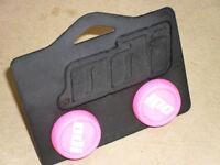 ODI Bar End Plugs (NEW!) Micro Scooter BMX Grips (PINK) Bike
