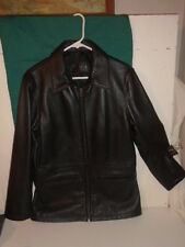 INC. UNISEX DRESS OR SPORTSWEAR  LEATHER JACKET  NWOT  $758 RETAIL