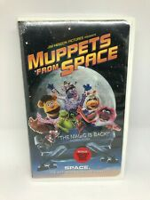 NEW Muppets From Space VHS Tape Clam Shell Case Jim Henson 1999 Sealed