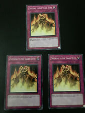 Yugioh Offering to the Snake Deity RYMP-EN085 Common Unlimited Edition NM X3