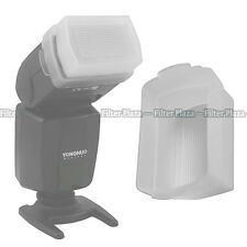 Flash Bounce Softbox Diffuser Cap for Canon Speedlite 580EX & 580 EX II White