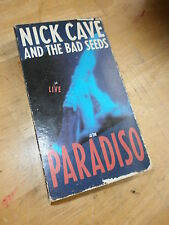 NICK CAVE & BAD SEEDS VHS Live At PARADISO Video Henrys Dream Amsterdam Concert