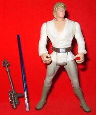 Star Wars 1995 Luke Skywalker short saber POTF Figure Complete