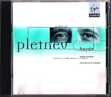 Mikhail Pletnev: HAYDN Piano Sonata 20 50 52 variations VIRGIN CD Piano Sonaten