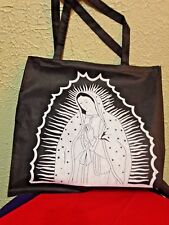 "Our Lady of Guadalupe TOTE BAG 14/1/2"" X 13""H, Recycled Nylon *NEW*"