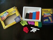 Learning Resources - Cuisenaire Rods Intro Set 74 Rods no. Ler7480 Complete