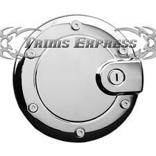 2002-2007 Jeep Liberty Chrome Fuel Door Gas Cap Cover